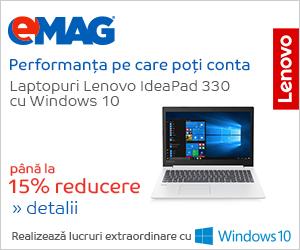 Campanie de reduceri Laptopuri Lenovo IdeaPad 330 cu Windows 10, 05- 12.11.2018