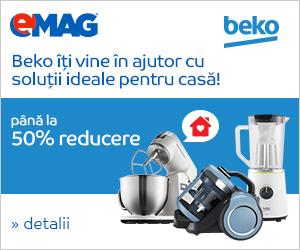 Campanie de reduceri Electrocasnice mici Beko