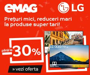 Campanie de reduceri Campanie After BF: Crazy Sale – Televizoare LG, 17-19 noiembrie 2018