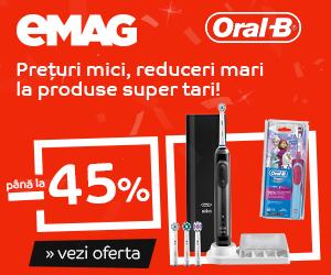 Campanie de reduceri Crazy Sale Igiena Dentara Oral-B