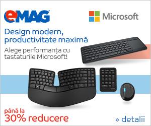Campanie de reduceri Tastaturi Microsoft- pana la 30% reducere, 19- 30.11.2018