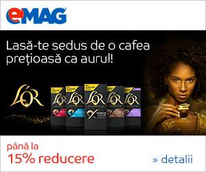 Campanie de reduceri Capsule L'Or compatibile cu espressoarele Nespresso