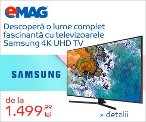 Campanie de reduceri Campanie Samsung Phase Televizoare UHD, 27 noiembrie 2018