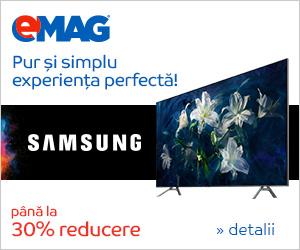 Campanie de reduceri Campanie Samsung Phase 2 – Televizoare QLED, 27 noiembrie 2018