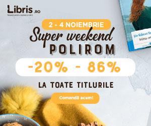 Campanie de reduceri Super weekend Polirom. -20% - 86% la TOATE titlurile.