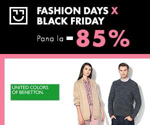 Campanie de reduceri United Colors Of Benetton - reduceri de pana la 85%
