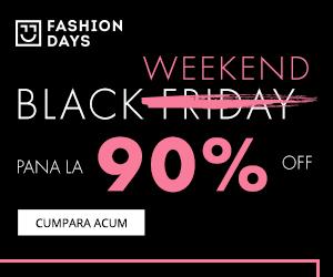 Campanie de reduceri Black Week 2018
