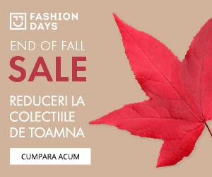 Campanie de reduceri End of Fall Sale - reduceri la colectiile de toamna