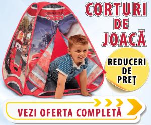 Campanie de reduceri Corturi de joaca si accesorii