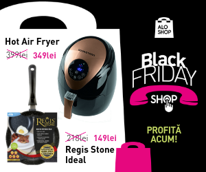 Campanie de reduceri Reduceri in Black Friday Shop la AloShop