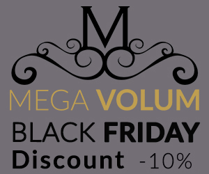 Campanie de reduceri Black Friday la MegaVolum! Cucereste fiecare privire cu MegaVolum!