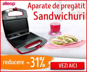 Campanie de reduceri Aparat de sandwichuri / Sandwich-maker