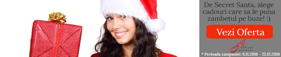 Campanie de reduceri Cadouri Secret Santa