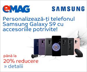 Campanie de reduceri Campanie Accesorii Samsung S9