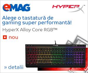 "Campanie de reduceri Tastatura de gaming HyperX Alloy Core RGBâ""¢, 03- 10.12.2018"