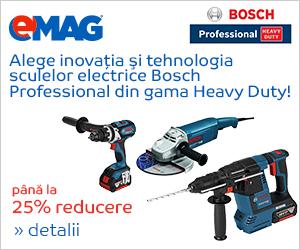 Campanie de reduceri DIY - Bosch Professional Heavy Duty cu pana la 25% reducere, 10- 31.12.2018