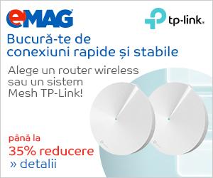 Campanie de reduceri Routere wireless TP-Link, 12- 25.12.2018