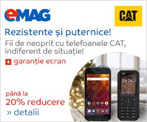 Campanie de reduceri Campanie telefoane CAT
