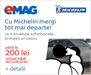 Campanie de reduceri [Auto] Voucher combustibil Michelin, 3-9 decembrie