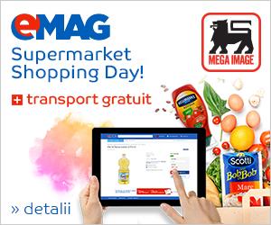 Campanie de reduceri Supermarket Shopping Day