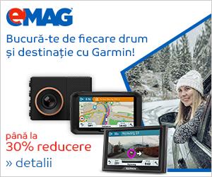 Campanie de reduceri [Auto] Pana la 30% reducere la electronice auto Garmin