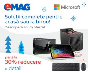 Campanie de reduceri Saptamana Microsoft, 06- 12.12.2018