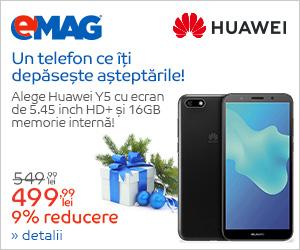 Campanie de reduceri Campanie Huawei Y5