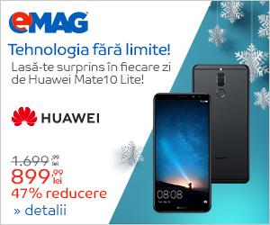 Campanie de reduceri Campanie Huawei Mate10 Lite