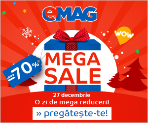 Campanie de reduceri Campanie Mega Sale Teasing
