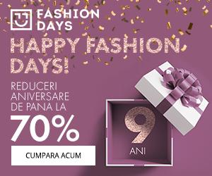 Campanie de reduceri Happy Fashion Days! - reduceri de pana la 70%