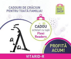Campanie de reduceri Cadouri de Craciun pentru toata familia de la AloShop