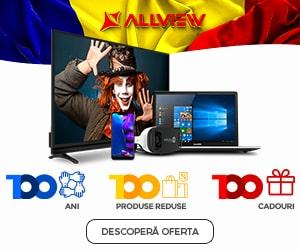 Campanie de reduceri Allview lansează Campania 100 - 100 ani, 100 produse reduse, 100 cadouri