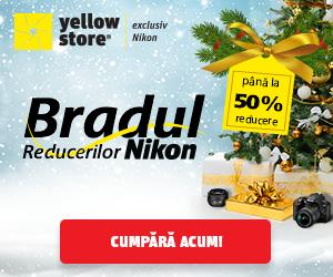 Campanie de reduceri Bradul Reducerilor Nikon