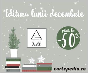 Campanie de reduceri ART - Editura lunii decembrie pe Cartepedia
