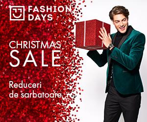 Campanie de reduceri Christmas Sale - reduceri la articolele pentru barbati