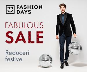 Campanie de reduceri Fabulous Sale - reduceri festive la articolele pentru barbati