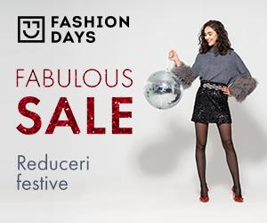 Campanie de reduceri Fabulous Sale - reduceri festive la articolele pentru femei
