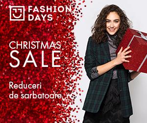 Campanie de reduceri Christmas Sale - reduceri la articolele pentru femei