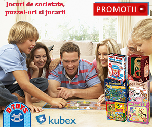 Campanie de reduceri Jucarii D-TOYS la kubex.ro