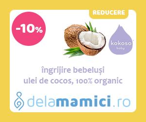 Campanie de reduceri Reducere 1 zi pentru produsele Kokoso