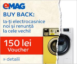 Campanie de reduceri Buy Back 150 lei la electrocasnice mari