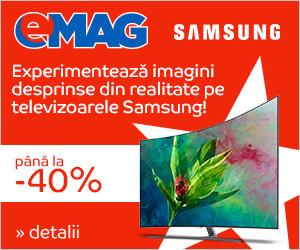 Campanie de reduceri Campanie Revolutia preturilor - coop TV Samsung, 15-17 ianuarie 2019