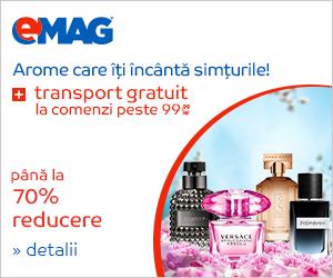 Campanie de reduceri Transport Gratuit Parfumuri