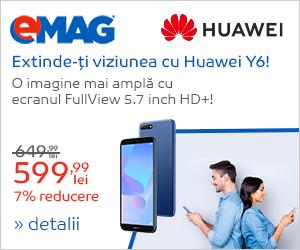 Campanie de reduceri Campanie Huawei Y6