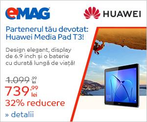 Campanie de reduceri Campanie Tableta Huawei Media Pad T3