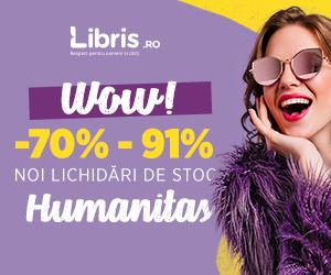 Campanie de reduceri  -70% - 91% Noi Lichidari de Stoc Humanitas!