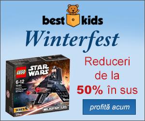 Campanie de reduceri Winterfest: reduceri de la 50% in Sus.