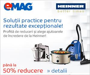 Campanie de reduceri Electrocasnice mici Heinner