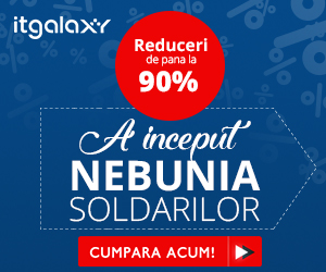 Campanie de reduceri A inceput Nebunia Soldarilor! Reduceri de pana la 90%. Grabeste-te, stoc limitat!