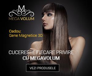 Campanie de reduceri Bucură-te de ofertele MegaVolum! La fiecare comandă plasată peste 199 lei, primești CADOU un set de Gene Magnetice 3D.